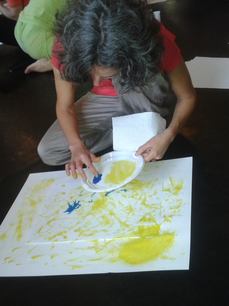 Biodanza et l'expression par la peinture oct.2014.