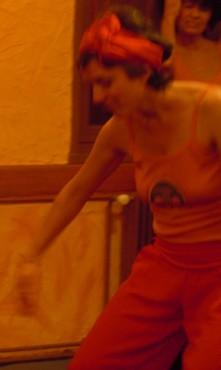 Danse orange 1.