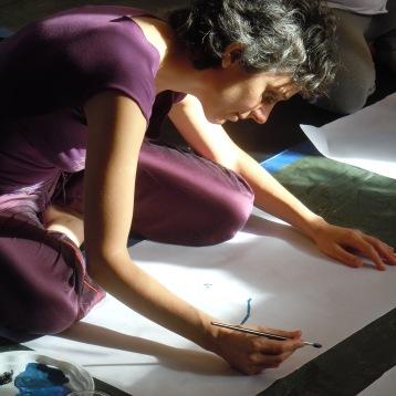 Peinture violette 2