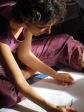 Peinture violette bleue 1