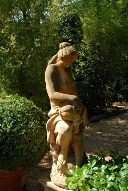 Jardin du domaine 1.