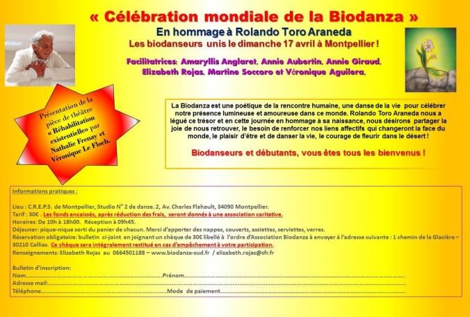 Journee mondiale de la Biodanza 2016