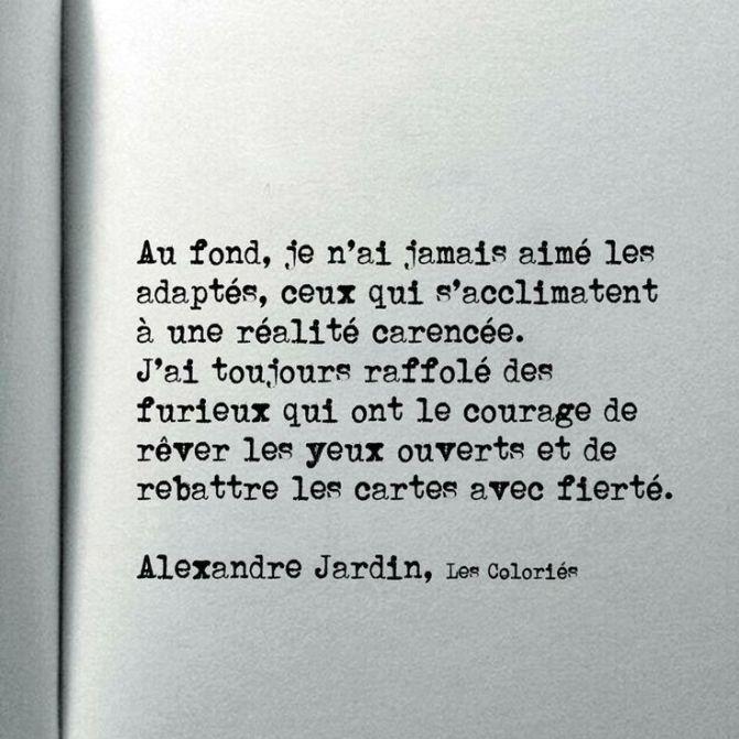 Alexandre Jardin texte